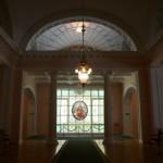 モスクワ音楽院大ホールのホワイエ